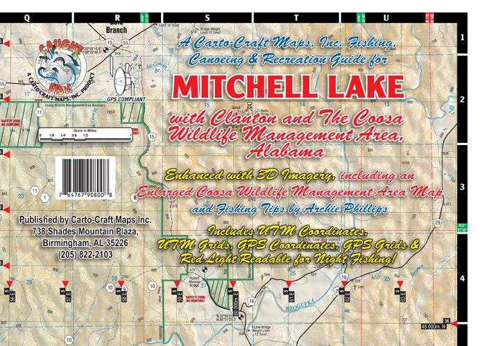 CartoCraft Maps Inc  Mitchell_lake